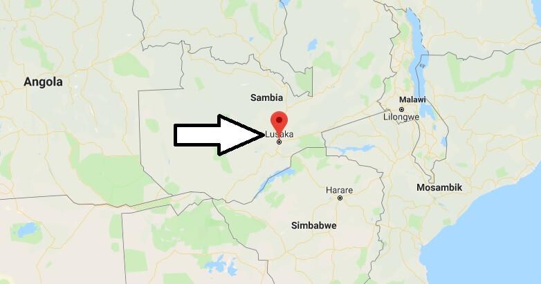 Was ist die Hauptstadt von Sambia