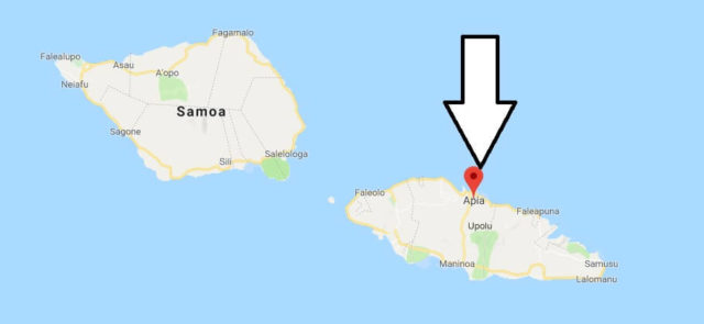 Was ist die Hauptstadt von Samoa
