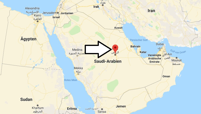 Was ist die Hauptstadt von Saudi-Arabien