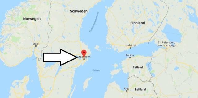 Was ist die Hauptstadt von Schweden