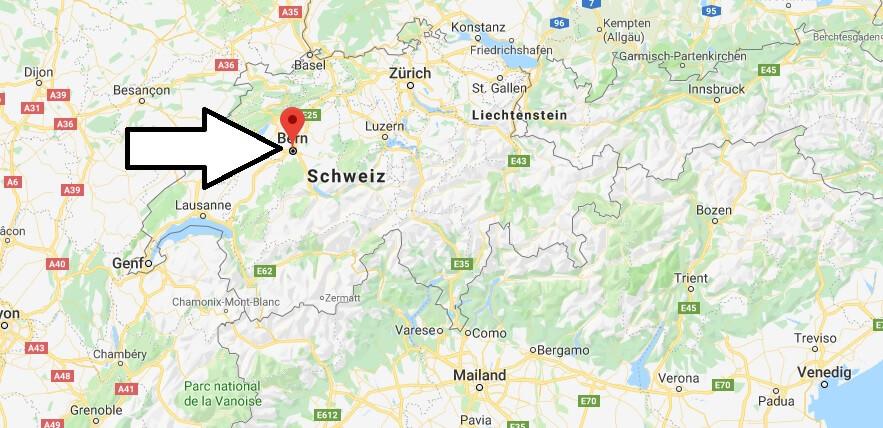 Was ist die Hauptstadt von Schweiz