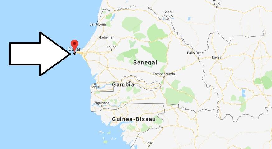 Was ist die Hauptstadt von Senegal