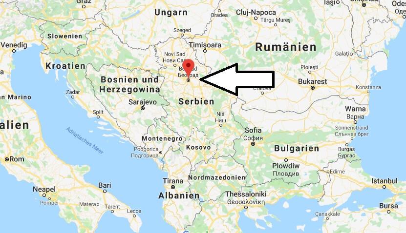 Was ist die Hauptstadt von Serbien