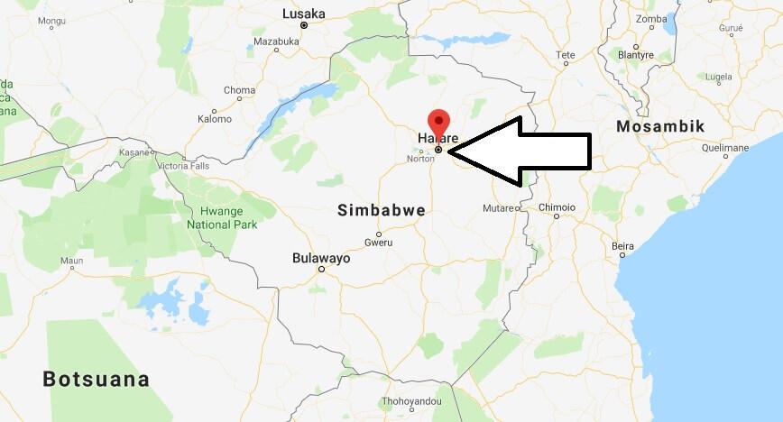 Was ist die Hauptstadt von Simbabwe