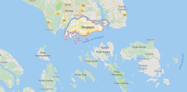 Was ist die Hauptstadt von Singapur