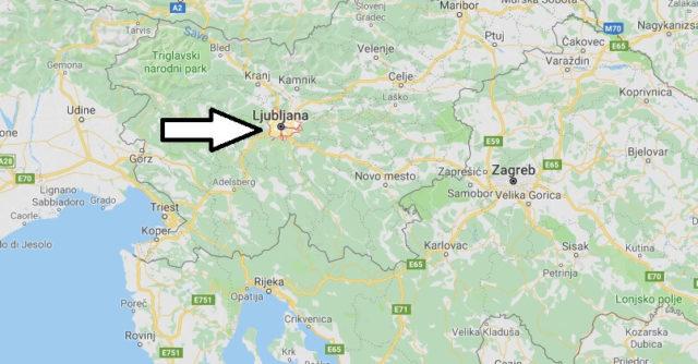 Was ist die Hauptstadt von Slowenien