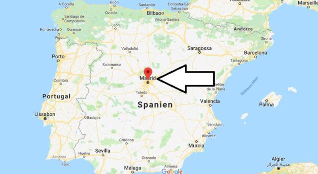 Was ist die Hauptstadt von Spanien