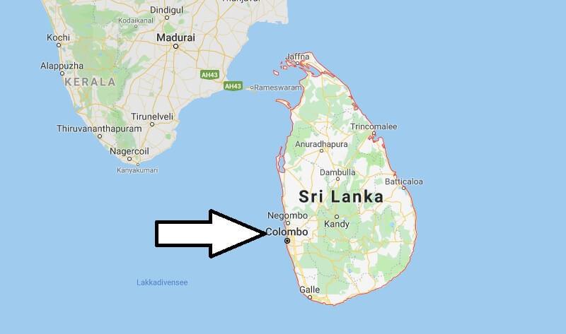 Was ist die Hauptstadt von Sri Lanka