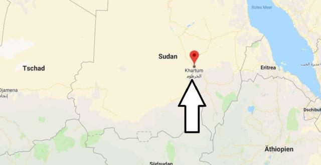 Was ist die Hauptstadt von Sudan