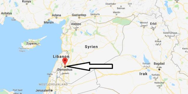 Was ist die Hauptstadt von Syrien