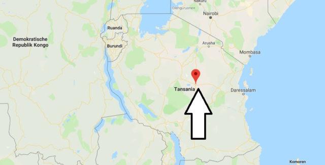 Was ist die Hauptstadt von Tansania