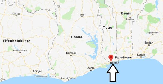Was ist die Hauptstadt von Togo