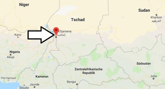 Was ist die Hauptstadt von Tschad