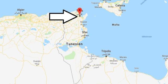 Was ist die Hauptstadt von Tunesien