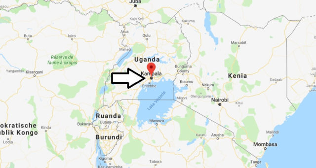 Was ist die Hauptstadt von Uganda