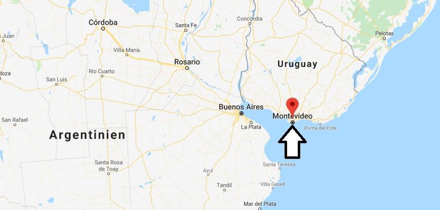 Was ist die Hauptstadt von Uruguay