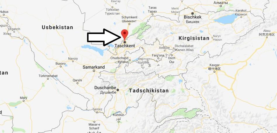 Was ist die Hauptstadt von Usbekistan