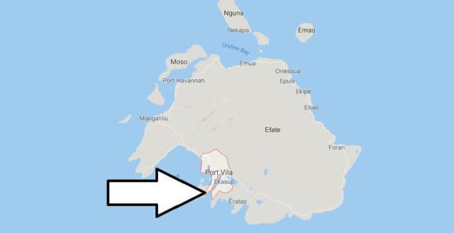 Was ist die Hauptstadt von Vanuatu