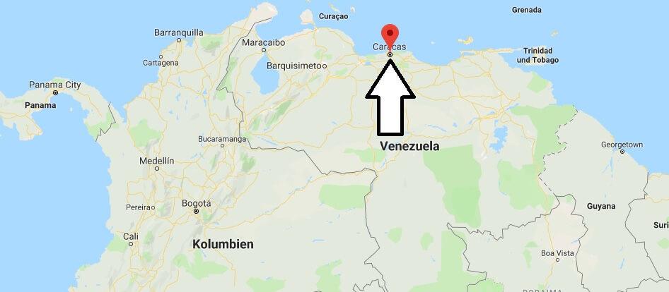 Was ist die Hauptstadt von Venezuela