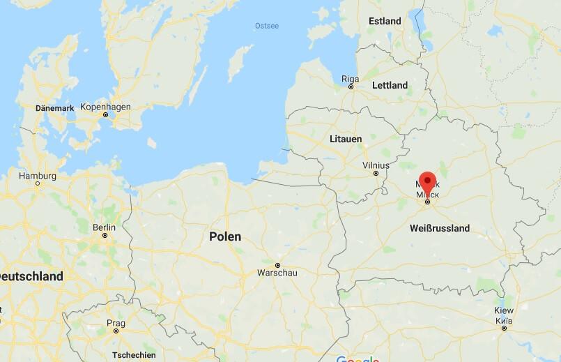 Weißrussische Hauptstadt