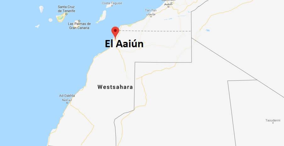 Was ist die Hauptstadt von Westsahara