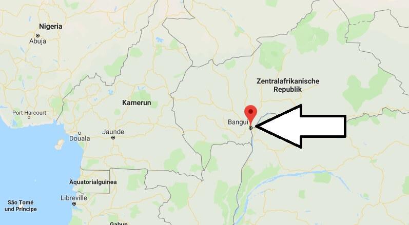 Was ist die Hauptstadt von Zentralafrikanische Republik