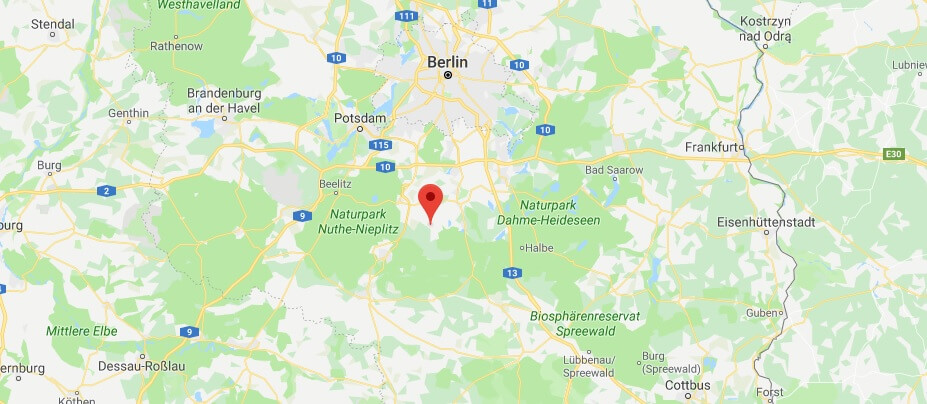 Wo Liegt Kummersdorf - Wo ist Kummersdorf