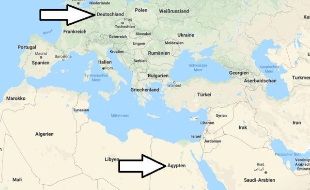 Wo liegt Ägypten? Wo ist Ägypten? in welchem Land? Welcher Kontinent ist Ägypten?