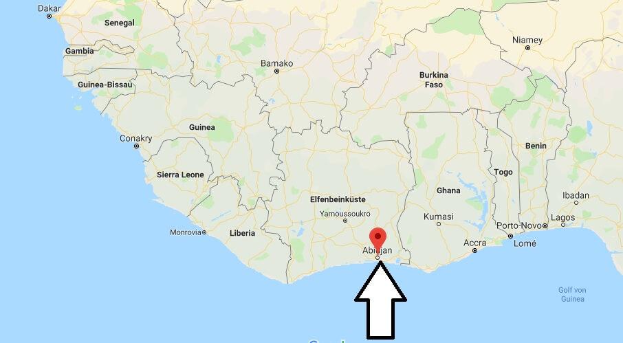 Wo liegt Abidjan? Wo ist Abidjan? in welchem land liegt Abidjan