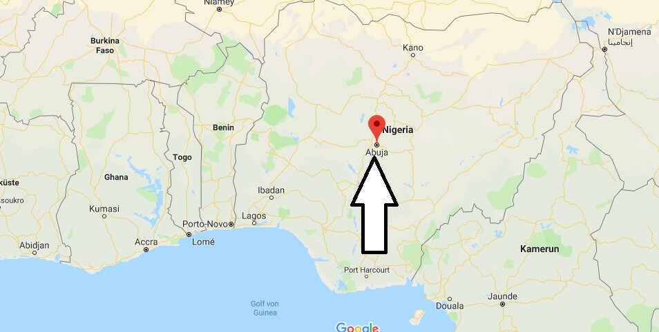 Wo liegt Abuja? Wo ist Abuja? in welchem land liegt Abuja