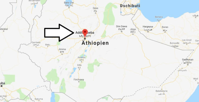 Wo liegt Addis Abeba? Wo ist Addis Abeba? in welchem land liegt Addis Abeba