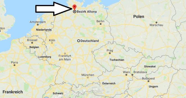 Wo liegt Altona? Wo ist Altona