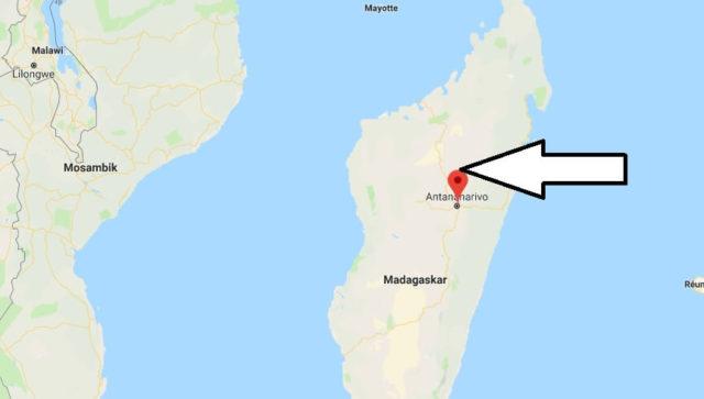 Wo liegt Antananarivo? Wo ist Antananarivo? in welchem land liegt Antananarivo