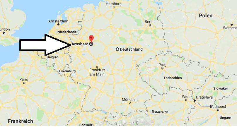 Wo liegt Arnsberg? Wo ist Arnsberg? in welchem Land