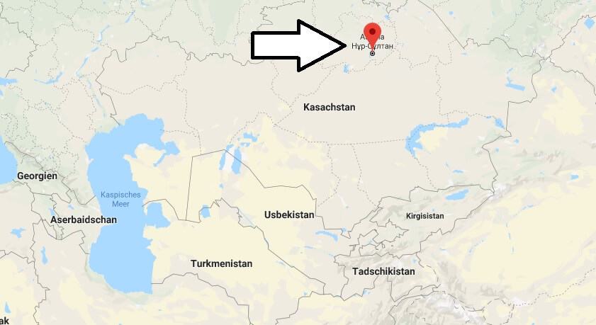 Wo liegt Astana? Wo ist Astana? in welchem land liegt Astana