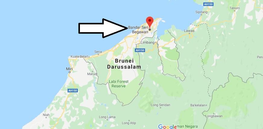 Wo liegt Bandar Seri Begawan? Wo ist Bandar Seri Begawan? in welchem land liegt Bandar Seri Begawan