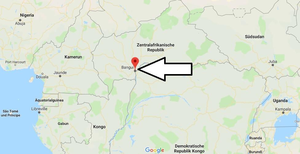 Wo liegt Bangui? Wo ist Bangui? in welchem land liegt Bangui