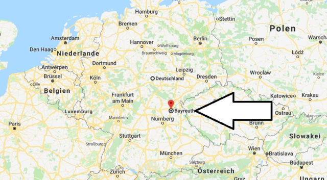 Wo liegt Bayreuth? Wo ist Bayreuth? in welchem Land