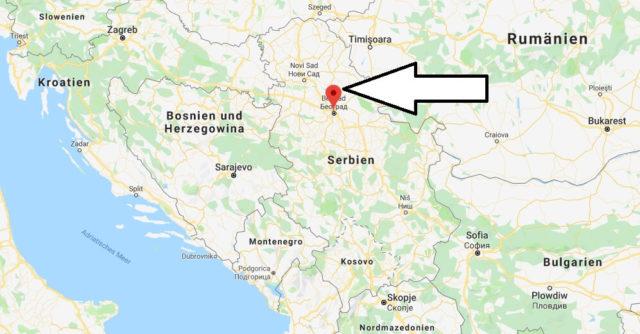 Wo liegt Belgrad? Wo ist Belgrad? in welchem land liegt Belgrad