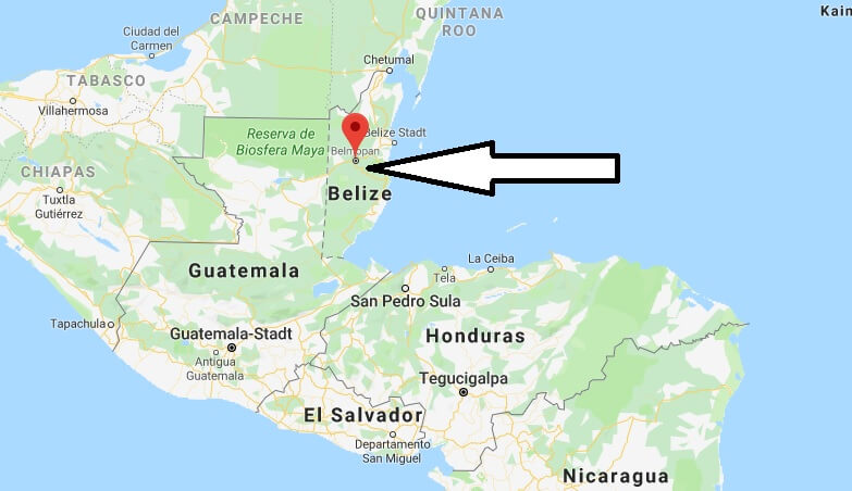 Wo liegt Belmopan? Wo ist Belmopan? in welchem land liegt Belmopan