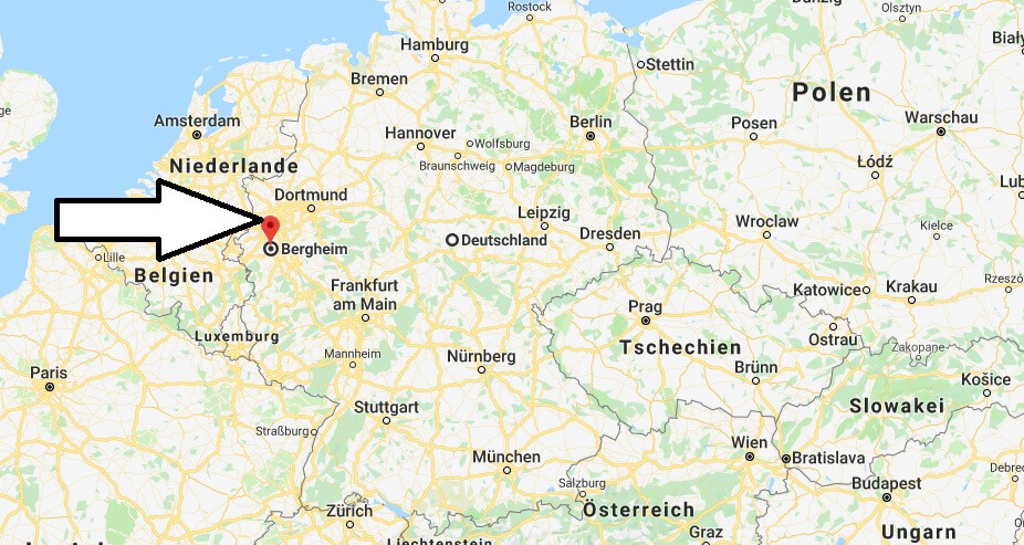 Wo liegt Bergheim? Wo ist Bergheim? in welchem Land