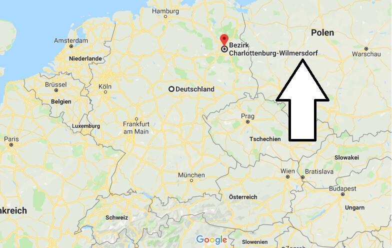 Wo liegt Berlin-Charlottenburg? Wo ist Berlin-Charlottenburg