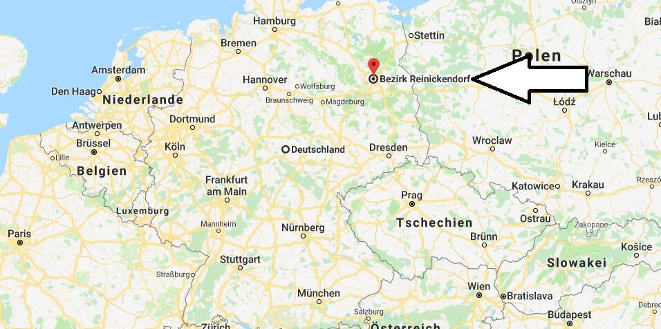 Wo liegt Berlin-Reinickendorf? Wo ist Berlin-Reinickendorf? in welchem Land