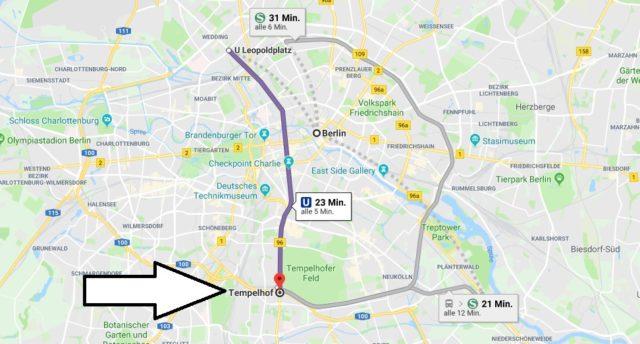 Wo liegt Berlin-Tempelhof? Wo ist Berlin-Tempelhof? in welchem Land
