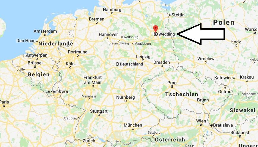 Wo liegt Berlin-Wedding? Wo ist Berlin-Wedding? in welchem Land