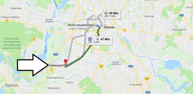 Wo liegt Berlin-Zehlendorf? Wo ist Berlin-Zehlendorf? in welchem Land