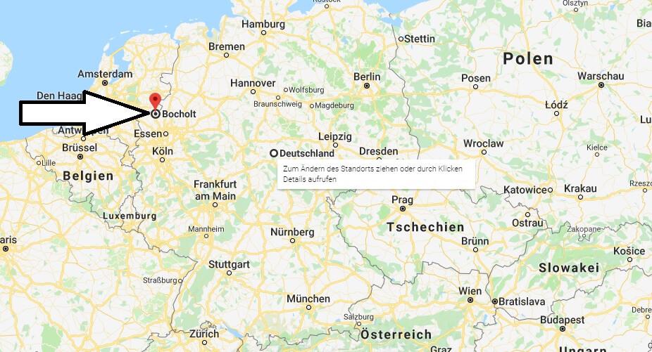 Wo liegt Bocholt? Wo ist Bocholt? in welchem Land