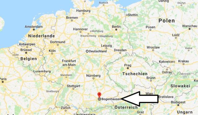 Wo liegt Bogenhausen? Wo ist Bogenhausen? in welchem Land