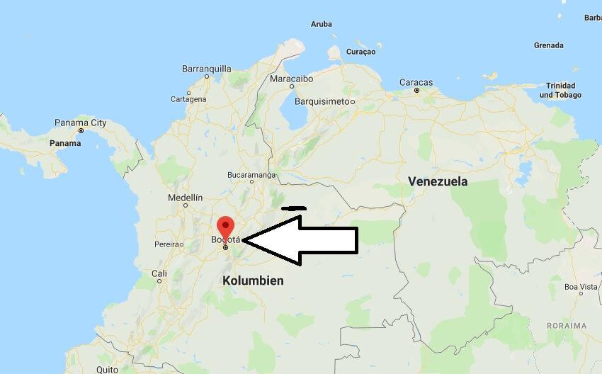 Wo liegt Bogota? Wo ist Bogota? in welchem land liegt Bogota