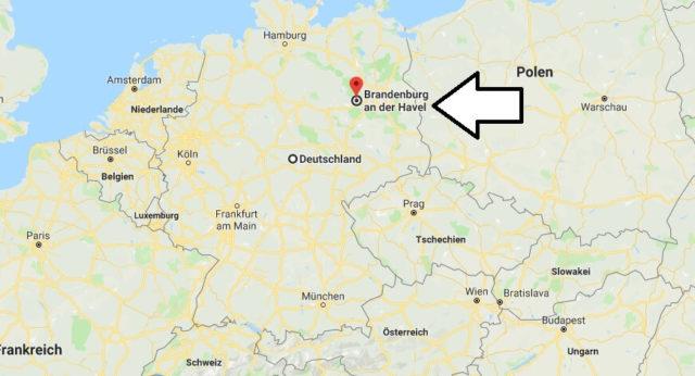 Wo liegt Brandenburg an der Havel? Wo ist Brandenburg an der Havel? in welchem Land